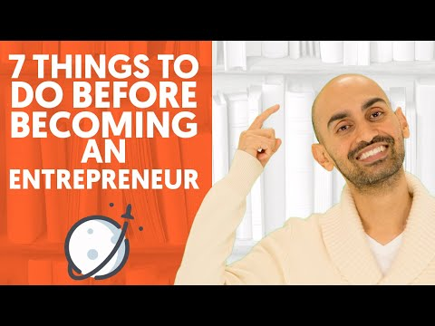 7 Things to Do Before Becoming an Entrepreneur