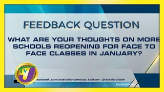 TVJ News: Feedback Question - November 25 2020