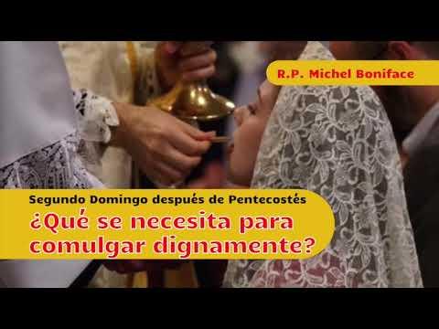 ¿Qué se necesita para comulgar dignamente | Segundo Domingo después de Pentecostés