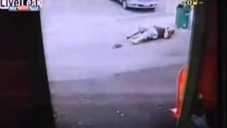فيديو:جنون الحب.. فتاة تدهسه لأنه قرر تركها