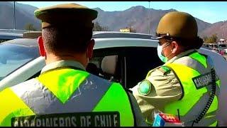 Decenas de conductores intentaron evadir controles sanitarios