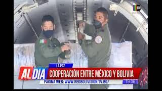 Más esperanza: 150 mil dosis de vacunas son donadas por México