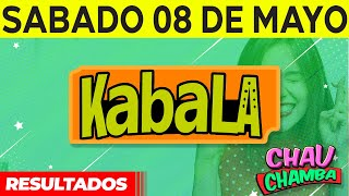 Resultado de Kabala y Chau Chamba del Sábado 8 de Mayo del 2021