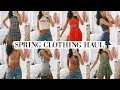 SPRING CLOTHING HAUL , TRY ON , Fashion Nova