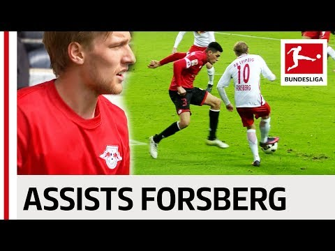 Emil Forsberg - All Assists 2016/17 Season
