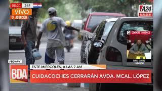 #Ahora Cuidacoches anuncian manifestación frente a Municipalidad
