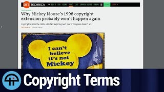 Mickey Mouse and Copyright Term Extension