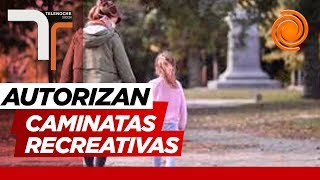 Regresan las caminatas recreativas en Córdoba capital y analizan flexibilizar más el martes