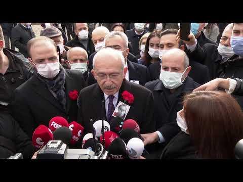 CHP GENEL BAŞKANI KEMAL KILIÇDAROĞLU, KATLEDİLİŞİNİN 28'İNCİ YILINDA UĞUR MUMCU'YU ANDI 24/01/2021