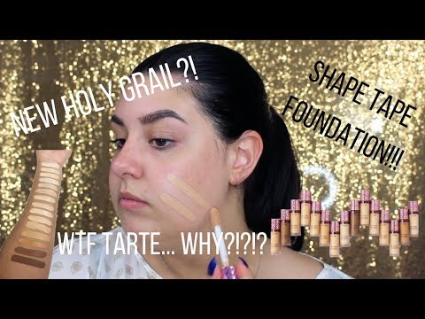 connectYoutube - TARTE SHAPE TAPE FOUNDATION - HONEST First Impressions/Review | Celina Pereira
