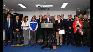 Presidente sobre declaratoria de la emergencia sanitaria para controlar pandemia del coronavirus