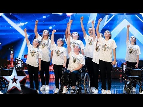 RISE have everyone in tears with their INCREDIBLE Manchester tribute | Auditions | BGT 2018