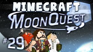 Minecraft Galacticraft - MoonQuest Episode 29 - A Dangerous Land
