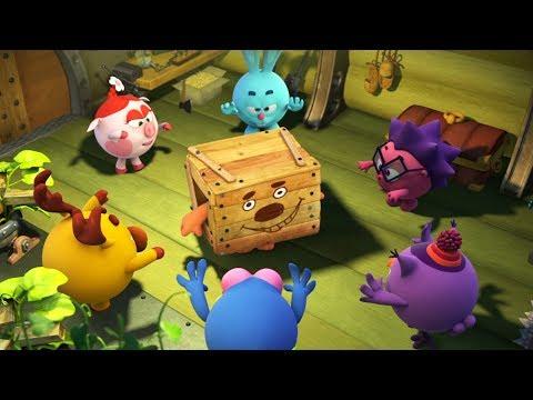 Кадр из мультфильма «Пин-код. Прыжок в будущее. Золотое сечение»
