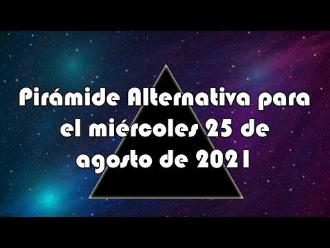 Lotería de Panamá - Pirámide Alternativa para el miércoles 25 de agosto de 2021
