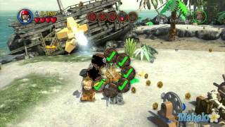 LEGO Pirates of the Caribbean Walkthrough - Dead Man's Chest Chapter 4 - Pt 1