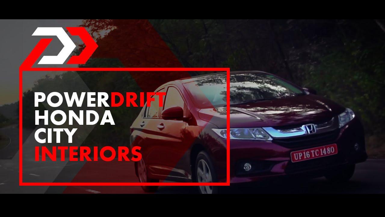 ഹോണ്ട നഗരം ഉൾഭാഗം : powerdrift