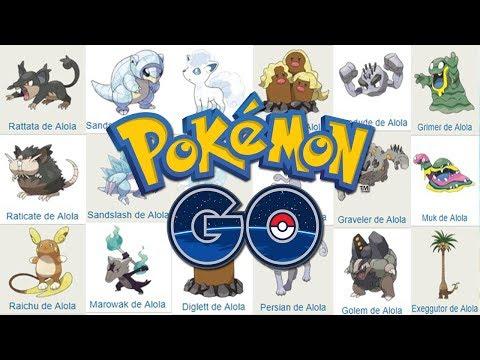 ¡TE EXPLICO TODOS los POKÉMON con FORMA de ALOLA y SUS TIPOS que VIENEN a Pokemon GO! [Keibron]