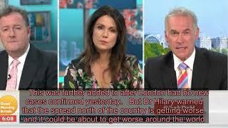 Dr Hilary Jones slams beach-loving Brits for 'making a mockery' of covid-19 crisis by ignoring socia