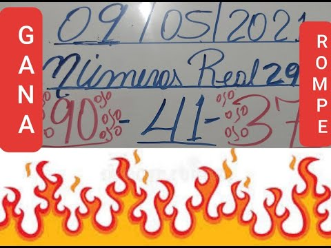 NÚMEROS PARA HOY 09/05/2021 DE MAYO PARA TODAS LAS LOTERIAS(NUMEROS DE HOY DOMINGO)