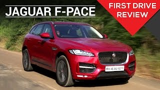 Jaguar F-Pace First Drive Review | Zigwheels