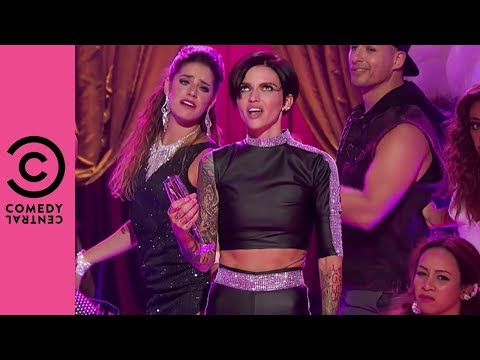 Ruby Rose Performs Pink's