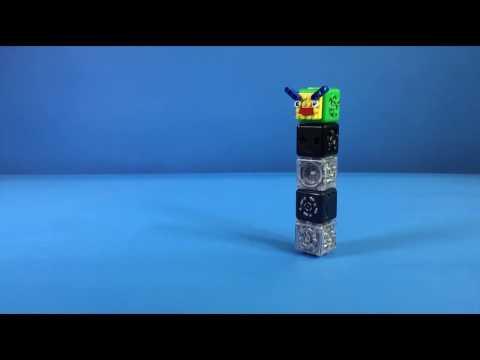 Cubelets Robot: Wobbl-E-Racer