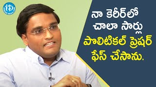 I Have Faced Lot of Political Pressure in my Career - Addanki Sridhar Babu IAS | Dil Se with Anjali - IDREAMMOVIES