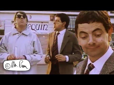 Bean's Bus Stops   Clip Compilation   Mr. Bean Official