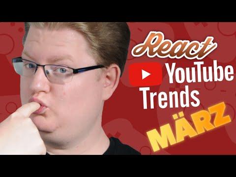 connectYoutube - React: YouTube Trends #6 - März