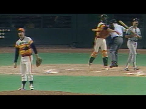 1981 NLDS Gm1: Ryan strikes out Lopes in the 9th