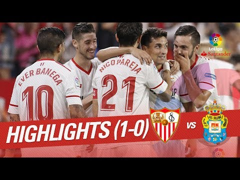 Resumen de Sevilla FC vs UD Las Palmas (1-0)