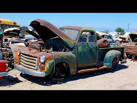 Junkyard Rescue! Saving a 1950 GMC Truck - Roadkill Ep. 31