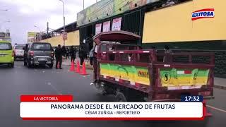 La Victoria: Panorama desde el Mercado de Frutas