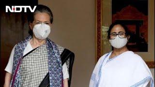 Mamata Banerjee Meets Sonia Gandhi Amid Opposition Unity Moves - NDTV