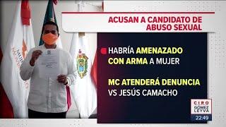Candidato a diputado abusó sexualmente de mujer por asesoría legal | Noticias con Ciro Gómez Leyva