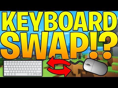 connectYoutube - KEYBOARD SWAP CHALLENGE* HELP SAVE US - MINECRAFT MURDER MYSTERY
