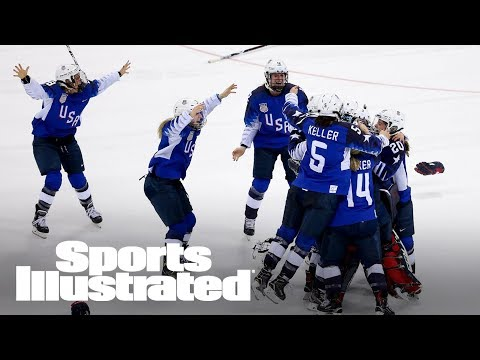U.S. Women's Hockey Ends Gold Drought In Most Dramatic Way | SI NOW | Sports Illustrated