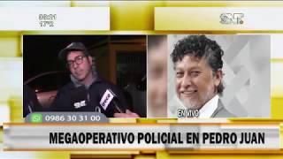 Crimen de Periodista: Se realizaron 20 allanamientos en Pedro Juan Caballero