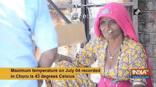 Churu sizzles at 43 degrees Celsius - INDIATV