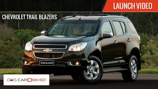 2015 Chevrolet Trailblazer | Launch Video | CarDekho.com