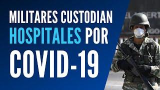 Hospitales de Caracas permanecen custodiados ante Covid 19