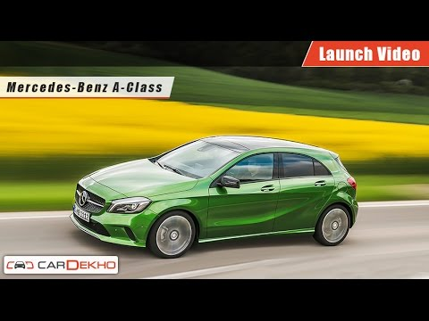Mercedes-Benz A-Class | Launch Video | CarDekho.com