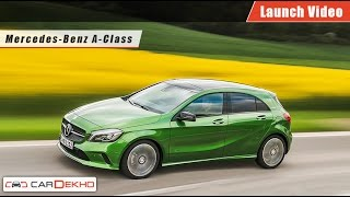 Mercedes-Benz A-Class | Launch Video | CarDekho.com