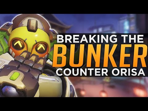 connectYoutube - Overwatch: How to Counter ORISA Cheese Comp - BREAK the BUNKER
