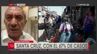 Explosión de casos de coronavirus en Santa Cruz: el 67% de infectados en Bolivia está en esta región