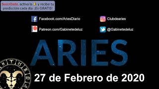 Horóscopo Diario - Aries - 27 de Febrero de 2020