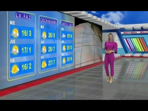 El Clima de Bolivisión: Pronóstico del 12 de mayo del 2021