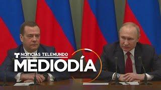 Renuncian primer ministro y gobernantes tras discurso de Vladimir Putin   Noticias Telemundo