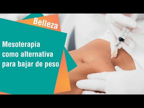 La mesoterapia como alternativa para bajar de peso | Belleza